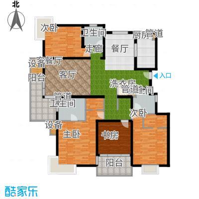 马陆清水湾公寓208.00㎡III户型