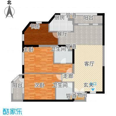 陕西北路1688121.00㎡户型