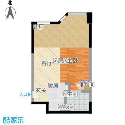 陕西北路168859.00㎡标准层户型