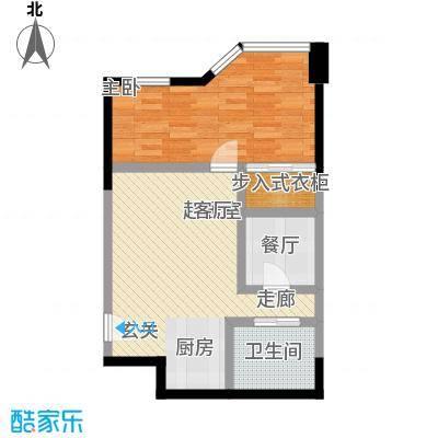 陕西北路168855.00㎡标准层户型