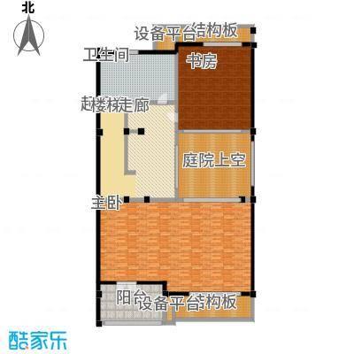 明泉璞院226.90㎡A型北入口三层户型