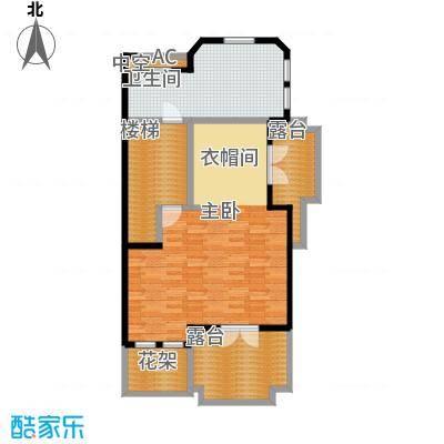 达安御廷别墅90.00㎡C5三层户型
