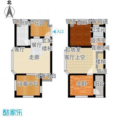 申亚花满庭95.84㎡小高层G1户型