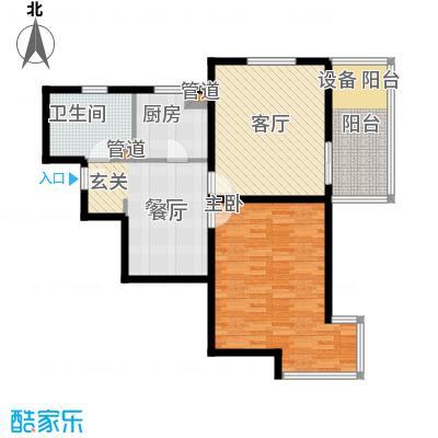 大华清水湾花园三期华府樟园91.00㎡K户型