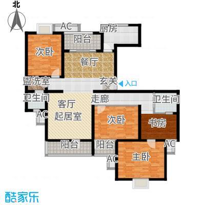 鼎鑫名流苑158.00㎡E7户型