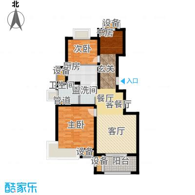 旭辉朗悦庭89.00㎡C1户型