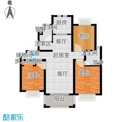 旭辉朗悦庭115.00㎡A户型