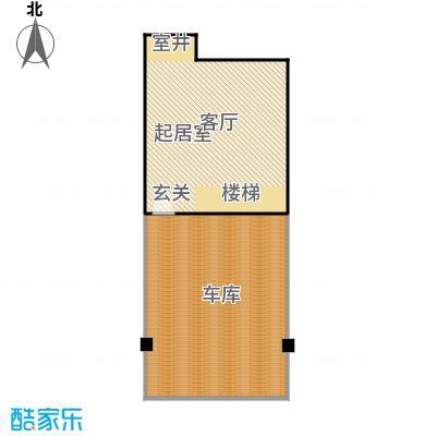 华纺易墅上海湾133.00㎡A地下室户型