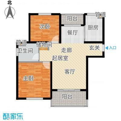 金鼎香樟苑88.00㎡A1户型