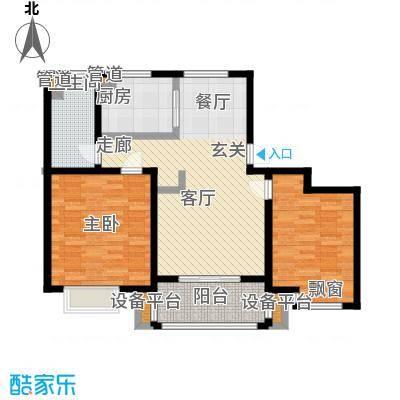 农房万盛金邸92.00㎡标准层D3户型