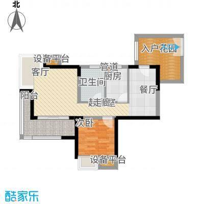 书香府邸61.24㎡1面积6124m户型