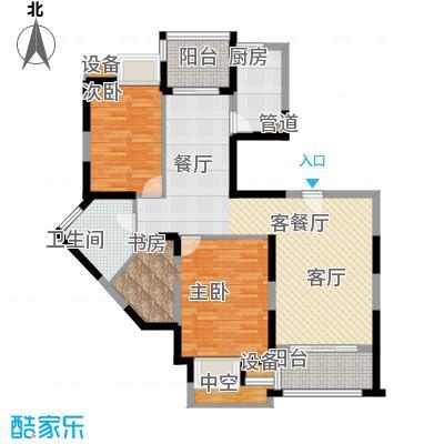 新虹桥雅苑100.00㎡B7户型