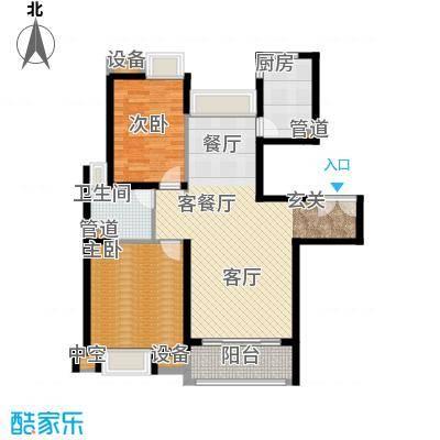 新虹桥雅苑95.00㎡户型