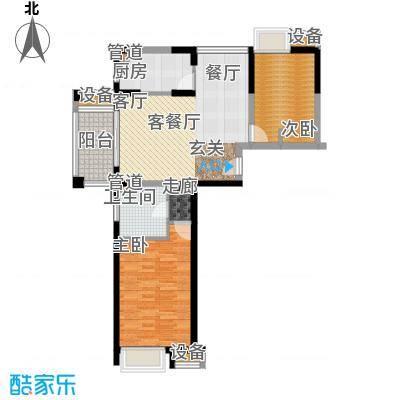 新虹桥雅苑83.00㎡D1晨曦伦敦户型