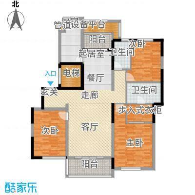 春申景城MID-TOWN141.50㎡户型