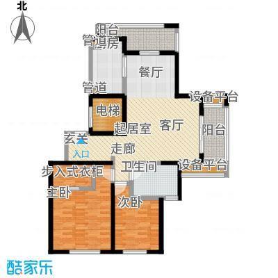 春申景城MID-TOWN108.50㎡4号楼户型