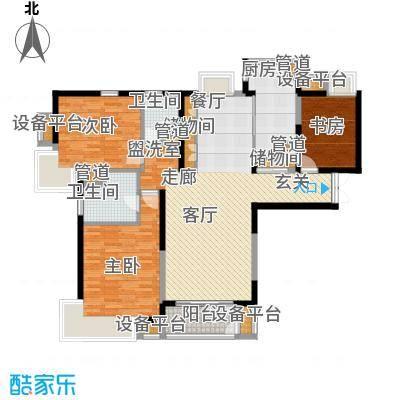春申景城MID-TOWN122.50㎡户型