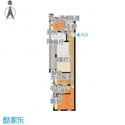 万科中环国际城海上传奇111.00㎡H5户型