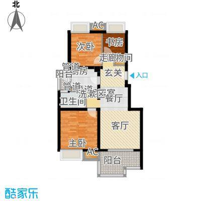 中信泰富朱家角新城86.00㎡A2c户型