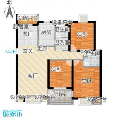正阳世纪星城114.00㎡多层房型H户型