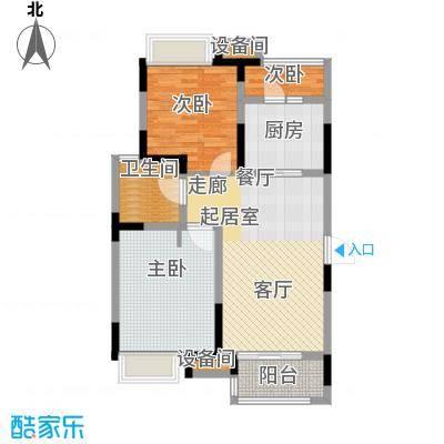 同济融景雅苑84.00㎡F2户型
