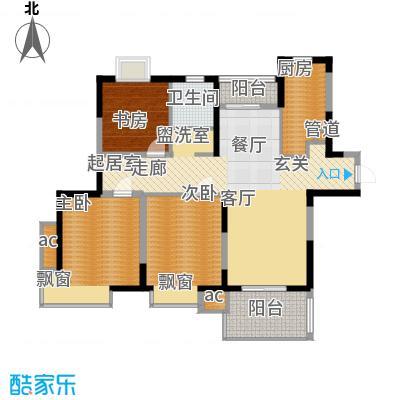 三湘森林海尚111.00㎡A5户型