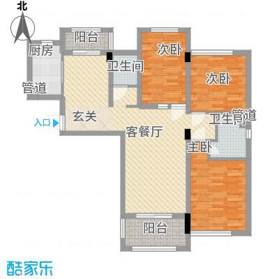 鑫苑世家111.00㎡1栋A户型