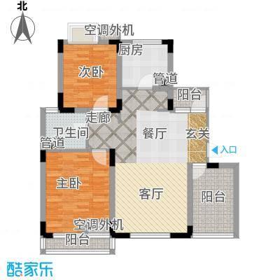 港城滴水湖馨苑87.00㎡G3c3户型