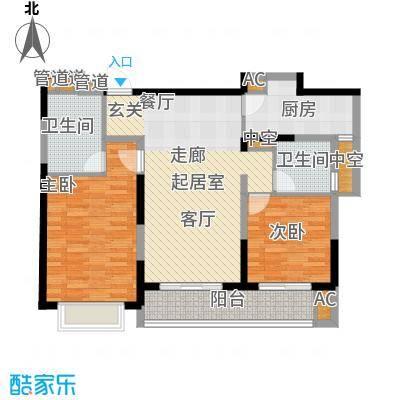 上海星光域112.00㎡高层E户型