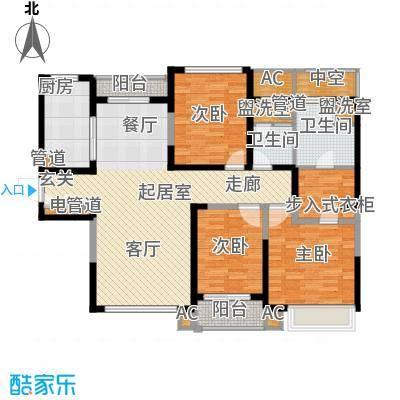 上海星光域145.00㎡高层F户型