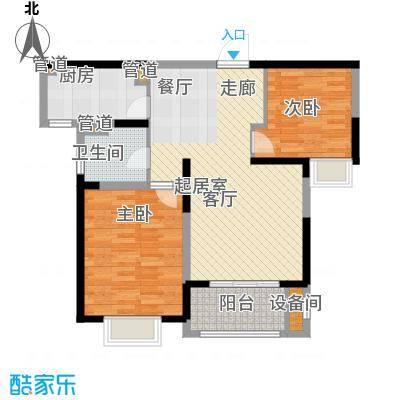 中星馨恒苑84.45㎡H2户型