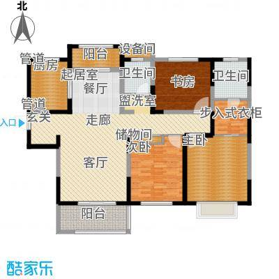 中星馨恒苑138.59㎡H3户型