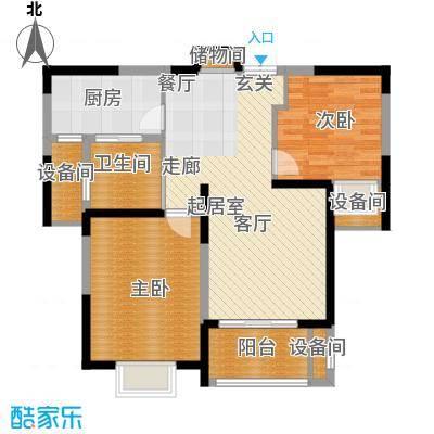 中星馨恒苑87.00㎡F户型