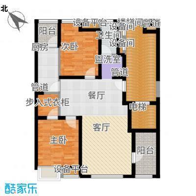 浦江华侨城105.21㎡四期景观公寓B户型