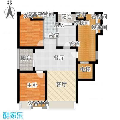 浦江华侨城97.14㎡四期景观公寓A户型