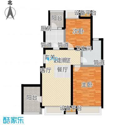 浦江华侨城92.55㎡三期F户型