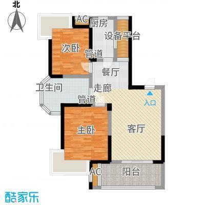 绿地东上海89.00㎡三期户型