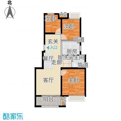 中国铁建青秀城90.00㎡b1户型