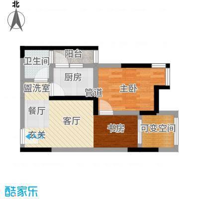 成都A区55.00㎡电梯D2型1面积5500m户型