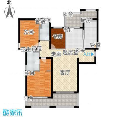 春申景城MID-TOWN144.00㎡18号楼03户型