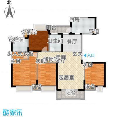 苏宁荣悦144.00㎡F1户型