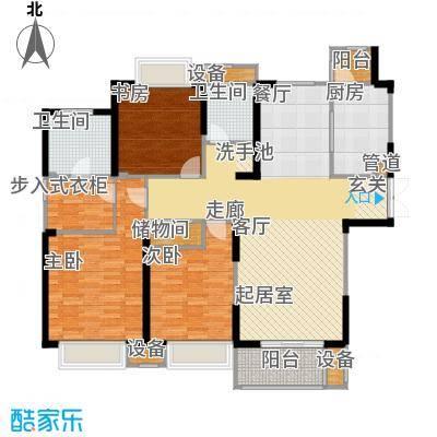 苏宁荣悦132.00㎡B2户型