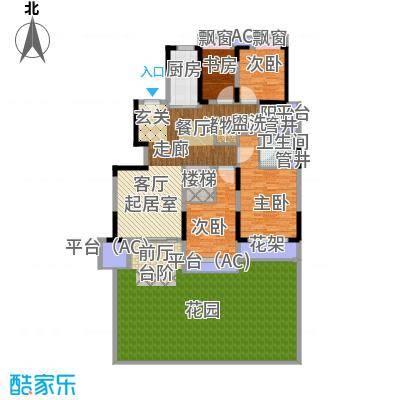 佳兆业城市广场138.00㎡AB1户型