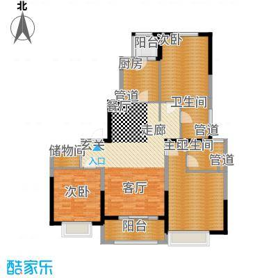 中金海棠湾118.00㎡A-2户型