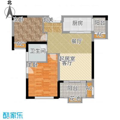 季景铭郡81.00㎡B1户型