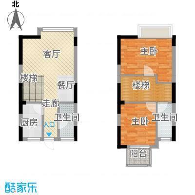 成都A区86.00㎡5#楼1面积8600m户型
