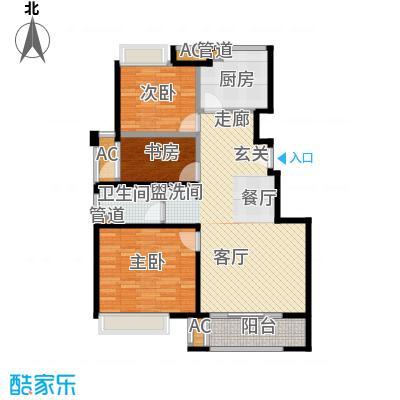 中国铁建青秀城90.00㎡B2户型