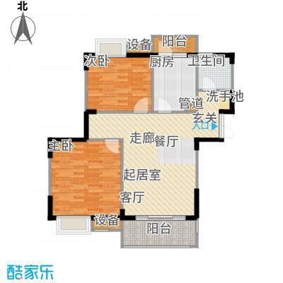 苏宁荣悦89.00㎡E3户型