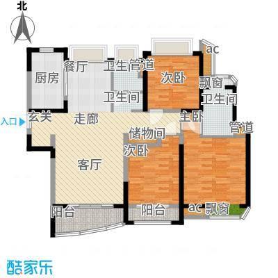 浦东颐景园115.00㎡B1户型