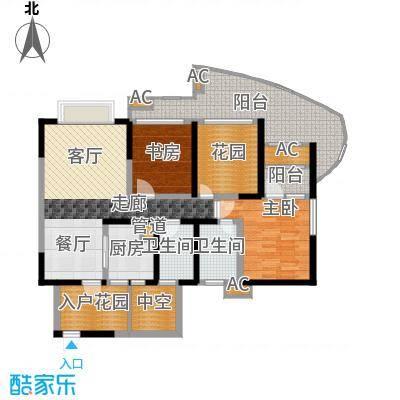 蓝光凯丽香江89.00㎡3-B2型奇数面积8900m户型